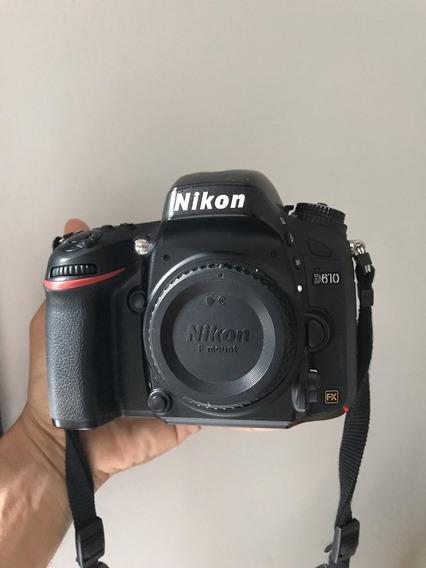 Nikon D610 Impecable (body) Completa!