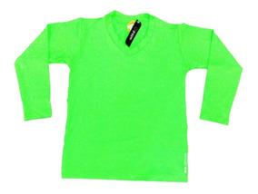 Kit 5 Camisa Proteção Uv Bebê (menino E Menina) 2 A 6 Anos