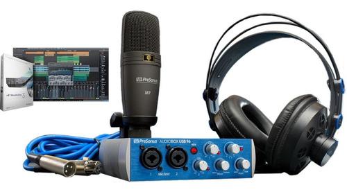 Pack De Grabacion Presonus Audiobox Studio Usb 96 Audio-box