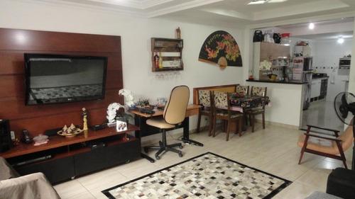 Casa À Venda, 92 M² Por R$ 380.000,00 - Parque São Vicente - São Vicente/sp - Ca0553