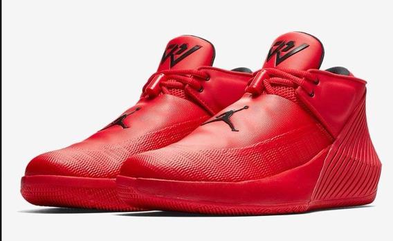 Tenis Nike Jordan Why Not Zero Rojo #23.5 #30 Mx