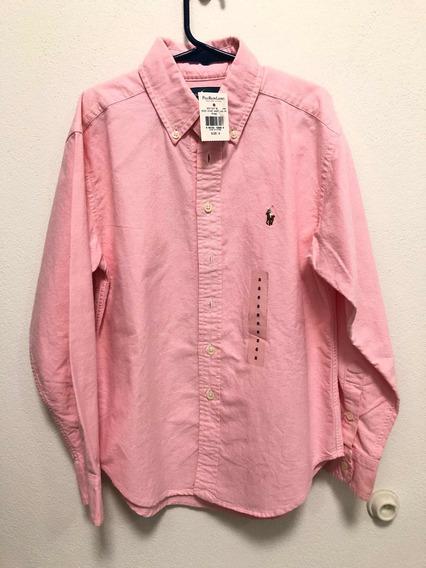 Camisa Polo Ralph Lauren Original Niño Nueva Talla 8