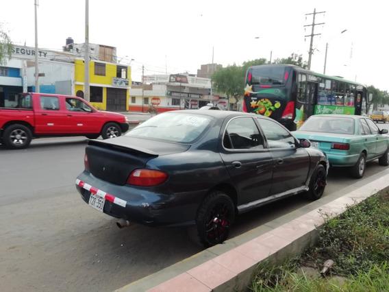 Hyundai Elantra -motor 1.6 1997 Azul Nilo 5 Puertas