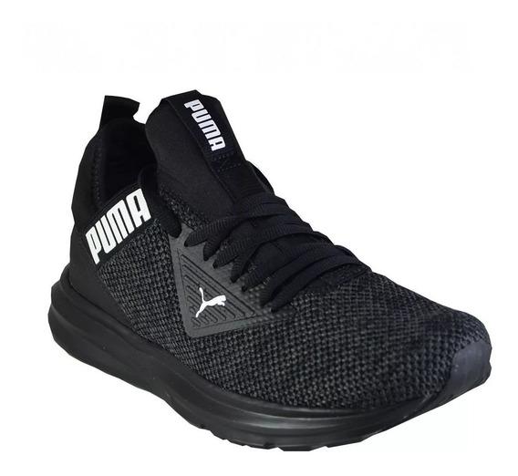 Zapatillas Puma Enzo Beta Woven Negra De Hombre Moda Running