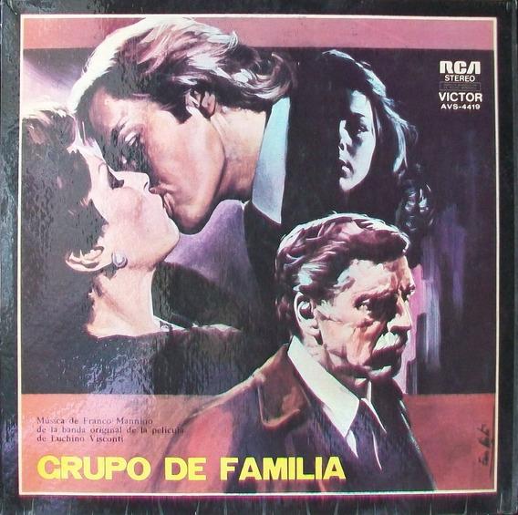 Grupo De Familia Disco Vinilo Lp Soundtrack Sin Uso