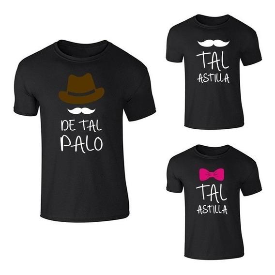Playera De Tal Palo Tal Astilla