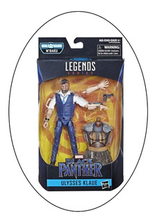 Marvel Legends De Black Panther Ulysses Klaue Nuevo Sellado