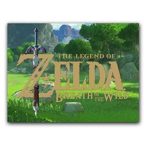 Placa Decorativa Mdf 20 Cm X 30 Cm - Zelda (bd11)