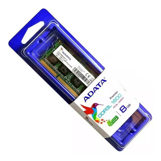Adata Adds1600w8g11-s - Ddr3l, Portátil, 204-pin So-dimm, 1