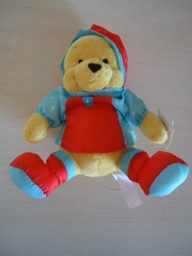 Modelo 03 Ursinho Pooh / Poof Roupa De Chuva 20 Cm Disney