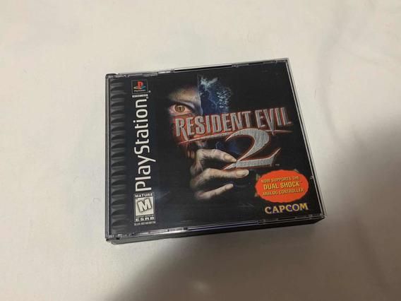 Resident Evil 2 Dual Shock Ps1 Original Americano