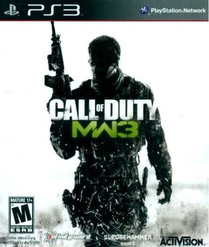 Playstation 3 Ps3 - Call Of Duty Modern Warfare 3 Mw3