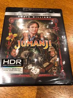 Jumanji Ultra Hd Bluray 4k Nuevo Sellado