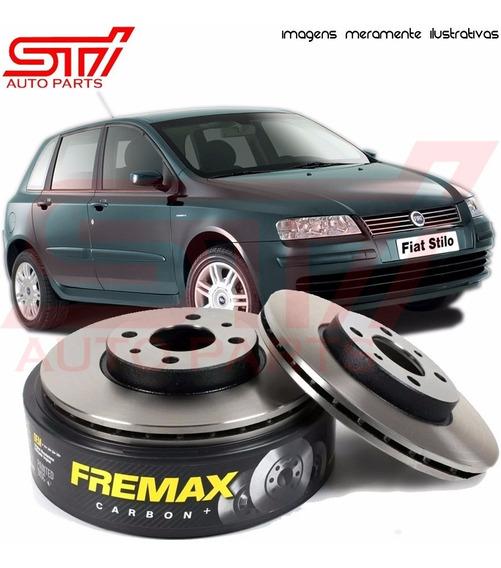 Par Disco Freio Diant Fremax Fiat Stilo 1.8 16v 02-07 Bd1650