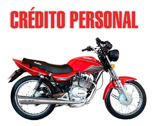 Keller Stratus Cg V2 150cc Cg Con Credito Personal
