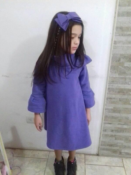 Vestido Nena Capucha Chic Invierno Fiesta Otoño Manga Larga