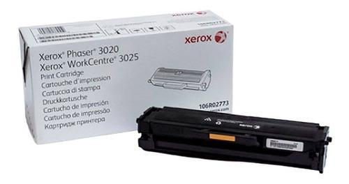 Imagen 1 de 6 de Toner Original Xerox Phaser 3020 Workcentre 3025