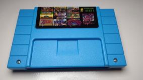 Cartucho Fita Super Nintendo Snes 49 Em 1 Com Donkey Kong