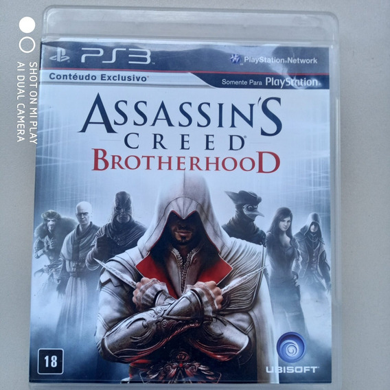 Jogo Ps3 Assassin´s Creed Brotherhood Original Física Usado