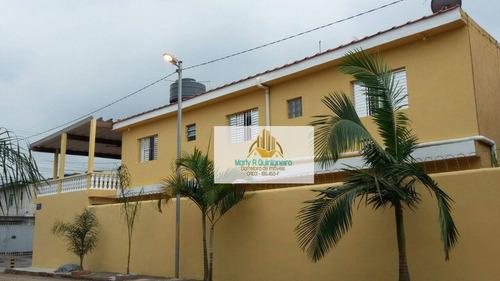 Imagem 1 de 15 de Sobrado Com 4 Dormitórios À Venda, 176 M² Por R$ 400.000,00 - Jardim Presidente Dutra - Guarulhos/sp - So0066