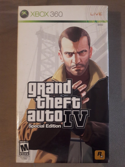 Grand Theft Auto Gta 4 Special Edition Edição Especial
