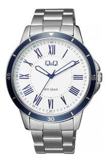 Reloj Q&q By Citizen Qb22j207y Cuarzo Wr50 Hombre