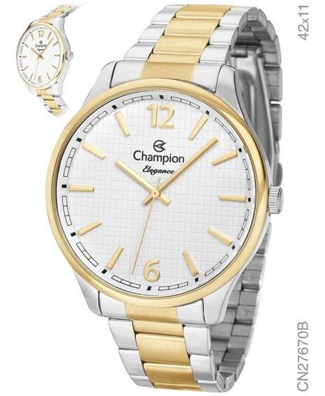 Relógio Champion Feminino Bicolor Cn27670b