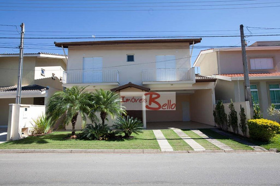 Casa Com 4 Dormitórios À Venda, 260 M² Por R$ 760.000,00 - Condomínio Itatiba Country Club - Itatiba/sp - Ca0606