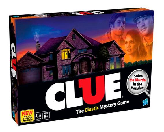 Hasbro Juego De Mesa Clue El Clasico Juego De Misterio