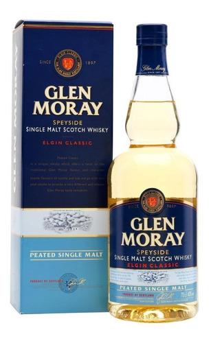 Imagen 1 de 1 de Glen Moray Peated Single Malt 700 Ml