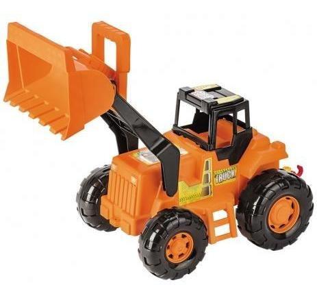 Brinquedo Trator Truck Laranja - Magic Toys