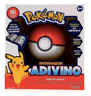 Pokemon Entrenador Adivino Juego Electronico De Adivinacion
