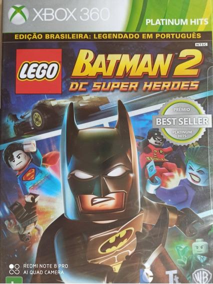 Lego Batman 2 Dc Super Heroes Xbox 360 Novo Lacrado
