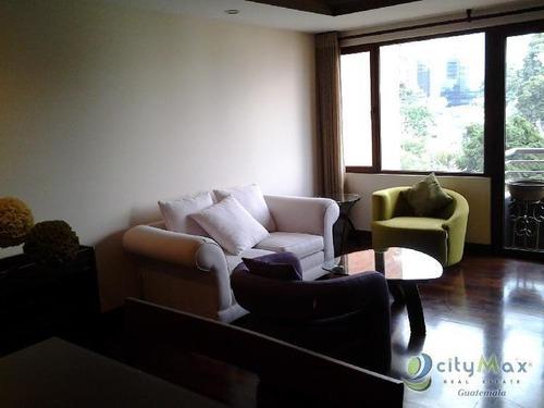 Alquilo O Vendo Apartamento Amueblado En Zona 10 - Paa-022-06-13