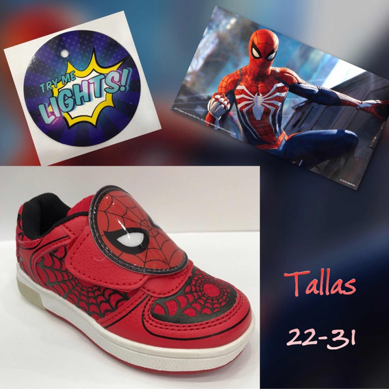Zapatos Spiderman Originales