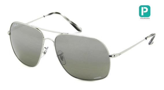 Óculos Ray Ban Rb3587-ch 003/5j 61 Chromance Polarizado - Le