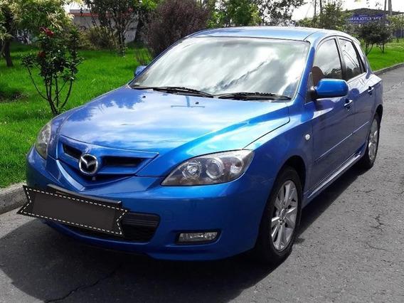 Mazda 3 Motor 2.0 2008 Azul Hatch Back