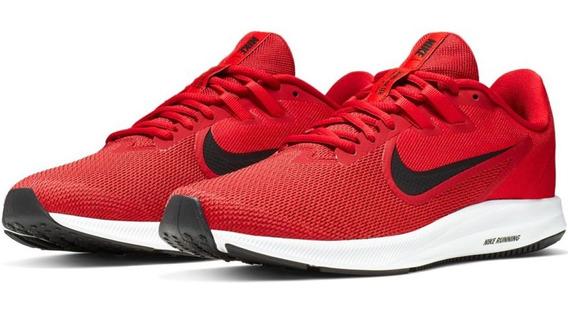 Tênis Nike Original Downshifter 9 Corrida Academia Vermelho