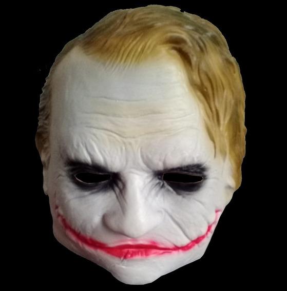 Mascara De Latex El Guason The Joker Payaso Disfraz Batman
