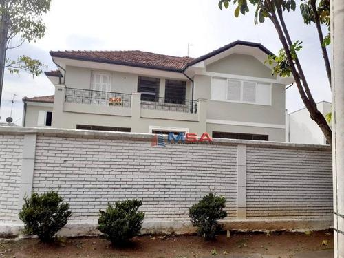 Imagem 1 de 20 de Casa, 350 M² - Venda Por R$ 3.400.000,00 Ou Aluguel Por R$ 21.000,00/mês - Lapa - São Paulo/sp - Ca1150