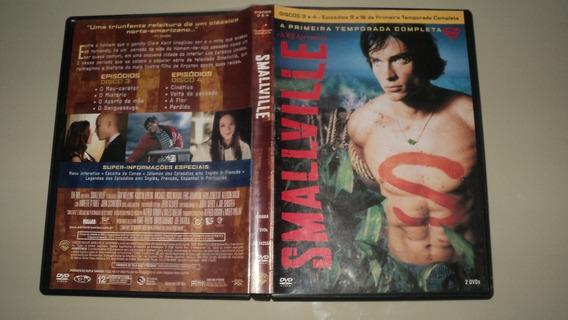 Dvd Original - Smallville 1* Temporada Dvd 4 F15