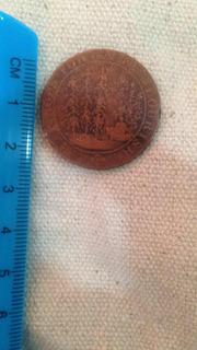 Moneda/ficha Coleccionable De 1794 Sin Identificar Jmg