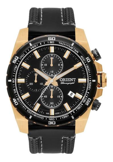 Relógio Orient Masculino Cronógrafo Mgscc003 P1px Dourado
