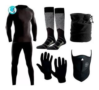 Kit Super Termico Alpina Extremo Frizado + Accesorios 6 Pzs