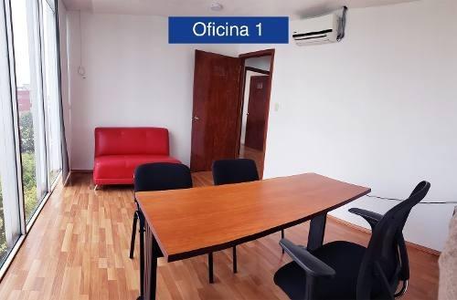 Oficinas En Renta Amueblada 12 M2,roma Sur, Ciudad De Mexico
