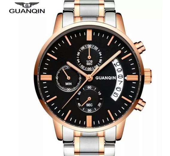 Relógio Guanqin Original Com Box . Top