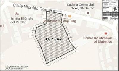 Terreno Comercial Venta / Nicolas Romero / Centro