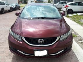 Honda Civic 2.0 Ex Sedan 5vel Mt 2013