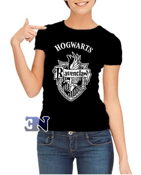 Camisa Ravenclaw Corvinal Hogwarts Harry Potter Baby Look