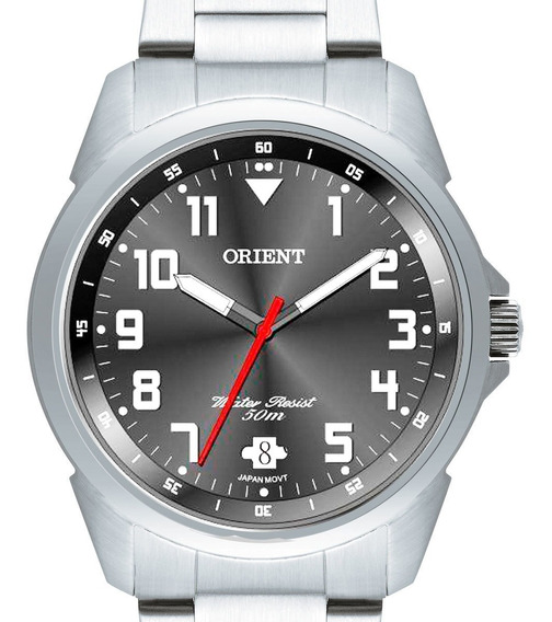 Relógio Orient Masculino Mbss1154a G2sx Prateado C/ Nota Fis